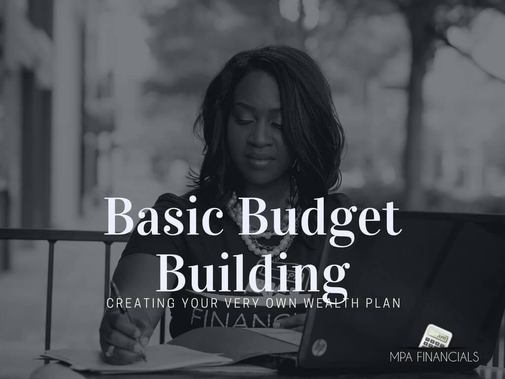 basic budget building mpa financials